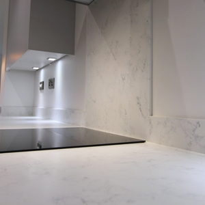 Mirostone Solid Stone Worktop Splashbacks