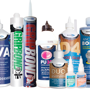 Nails, Cleaners & Adhesives