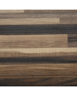 Bushboard Omega Ultramatt Ebony Stripwood Worktop - 4100mm x 600mm x 38mm