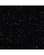 Bushboard Omega Gloss Black Quartz Worktop - 4100mm x 600mm x 38mm