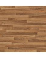 Bushboard Options Ultramatt Warm Walnut Block Worktop - 3000mm x 600mm x 38mm
