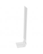 Freefoam Ogee Fascia Board Joiner - 300mm - White