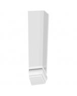 Freefoam Ogee Fascia Board External Corner - 300mm - White