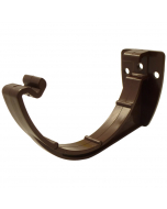 Freeflow 112mm Half Round Gutter Fascia Bracket - Brown