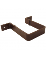 Freeflow 65mm Square Down Pipe Clip - Brown
