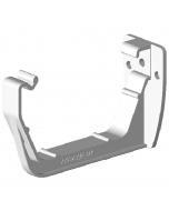 Freeflow 114mm Square Gutter Fascia Bracket - White