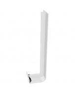 Freefoam Square Edged Fascia Board Double Joiner - 600mm - White