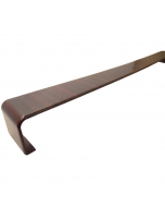 Freefoam Square Edged Fascia Board Double Joiner - 600mm - Woodgrain Mahogany