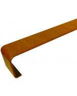 Freefoam Square Edged Fascia Board Joiner - 300mm - Woodgrain Light Oak