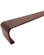 Freefoam Square Edged Fascia Board Joiner - 300mm - Woodgrain Rosewood
