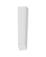 Freefoam Square Edged Fascia Board Double Corner - 600mm - White