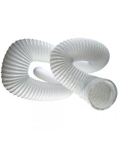 Manrose 100mm Round Flexible Ducting Hose - 6 Metre