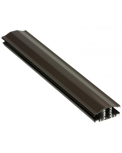Exitex Capex Snap Down Bar - 10mm to 25mm - 2.5 Metre - Brown
