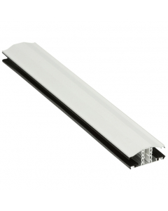 Exitex Capex Snap Down Bar - 10mm to 25mm -3 Metre - White