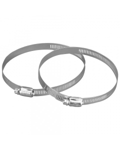 Manrose 110mm to 125mm Round Flexible Ducting Hose Clamp