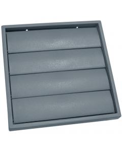Manrose 125mm Gravity Shutter Outlet - Grey