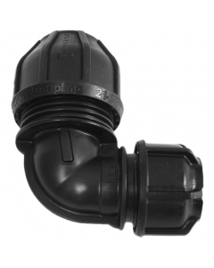 "Philmac Transition Elbow - 21-27mm x Poly ¾"" (25mm)"
