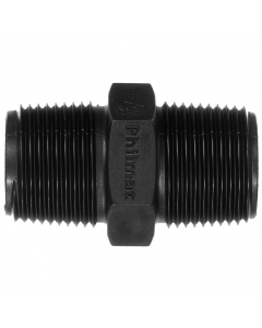 "Philmac BSP Threaded Reducing Nipple - BSP 1 ¼"" x BSP 1"""