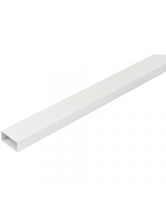 Manrose 110mm x 54mm Flat Ducting PVC Pipe - 2 Metre