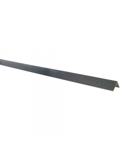 Mr Plastic 30mm x 30mm Plastic Angle - 5 Metre - Woodgrain Anthracite Grey
