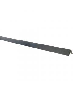 Mr Plastic 60mm x 60mm Plastic Angle - 5 Metre - Woodgrain Anthracite Grey