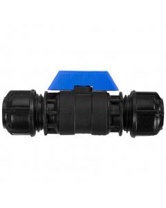 "Philmac Ball Valve Stopcock - Poly 1"" (32mm)"