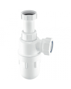 "McAlpine 75mm Water Seal Bottle Trap - 1 ¼"" - Adjustable Inlet"