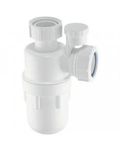 "McAlpine 75mm Water Seal Bottle Trap - 1 ¼"" - Standard Inlet (Anti-Syphon)"