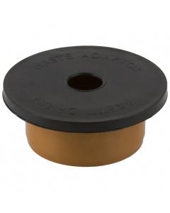 Brett Martin 110mm Underground Drainage Universal Waste Pipe Socket Adaptor