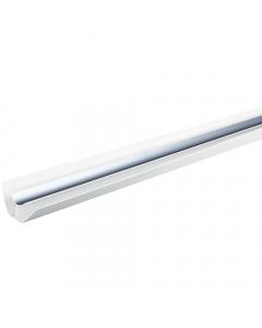 Basix 8mm Internal Corner Trim - 4 Metre - Silver