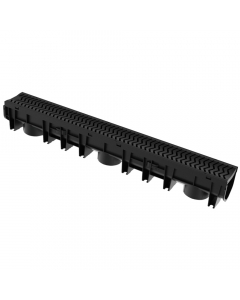Brett Martin Linear Channel Drain with Plastic Grating - 1 Metre