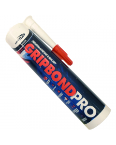 Bond It Gripbond Pro Hybrid Polymer Silicone - 290ml - White