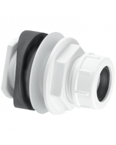 McAlpine Mechanical Soil and Rainwater Boss Pipe Connector - 19-23mm