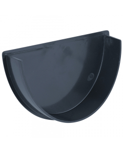 Brett Martin 115mm Deepstyle Gutter Internal Stopend - Anthracite Grey