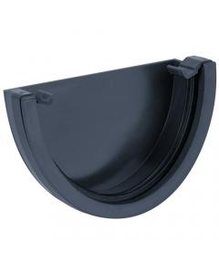 Brett Martin 115mm Deepstyle Gutter External Stopend - Anthracite Grey