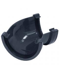 Brett Martin 115mm Deepstyle Gutter 135 Degree Gutter Angle - Anthracite Grey