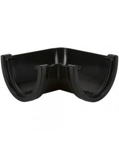 Brett Martin 170mm Large Deepstyle Gutter 90 Degree Gutter Angle - Black