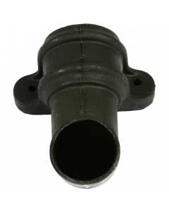 Cascade Cast Iron Style Round Down Pipe Shoe with Lugs