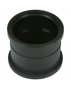 Cascade Cast Iron Style 110mm Push Fit Soil Double Socket Coupler