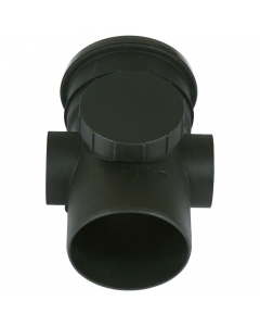 Cascade Cast Iron Style 110mm Push Fit Soil Access Pipe
