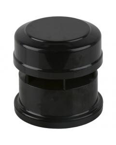 Brett Martin 110mm Push Fit Soil and Vent Soil Air Admittance Valve - Black