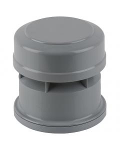 Brett Martin 110mm Push Fit Soil and Vent Soil Air Admittance Valve - Grey
