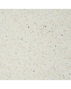 Bushboard Omega Gloss Vanilla Quartz Breakfast Bar Worktop - 4100mm x 665mm x 38mm