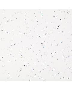 Bushboard Omega Gloss White Quartz Breakfast Bar Worktop - 4100mm x 665mm x 38mm