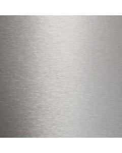 Bushboard Options Brushed Aluminium Midway Splashback - 3000mm x 600mm x 8mm