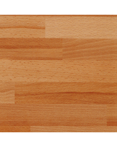 Bushboard Options Ultramatt Clear Beech Block Worktop - 4100mm x 600mm x 38mm