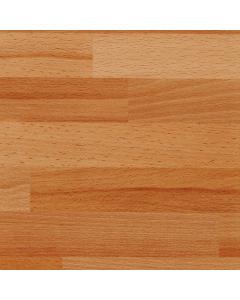 Bushboard Options Ultramatt Clear Beech Block Breakfast Bar Worktop - 4100mm x 900mm x 38mm