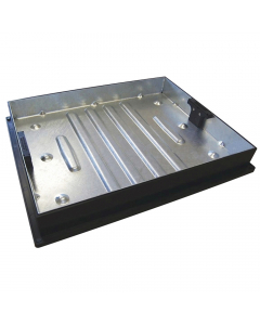 Clark Drain 600mm x 450mm Rectangular Recessed Tray Cover and Frame (Block Paving)