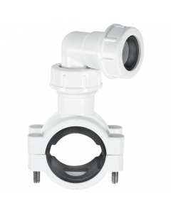 "McAlpine Condense Pipe Clamp Connector - 1¼""-1½"" x 19-23mm"