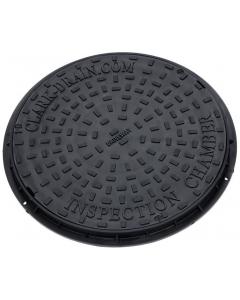 Clark Drain 450mm Round Manhole Drain Cover